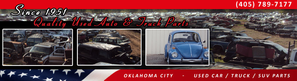 Local Salvage OKC | Auto & Truck Salvage Yard | Engines